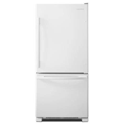 amana 18 7 cu ft refrigerator with bottom mount freezer