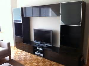Hanging Besta Cabinets On Wall Ikea Besta And Besta Framsta Tv Entertainment