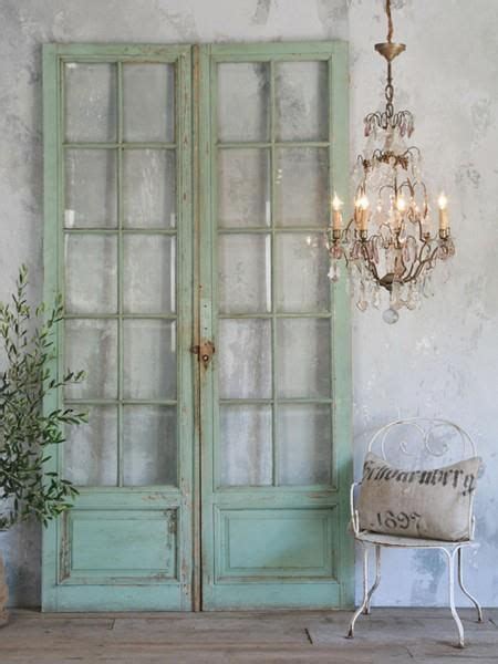 Putting Old Doors To Good Use Love These French Doors Home Decor Pinterest