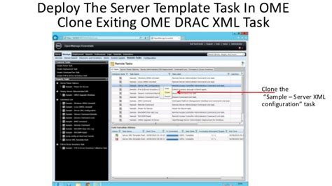 template lop cd dell ome server templete delopy no cost methods