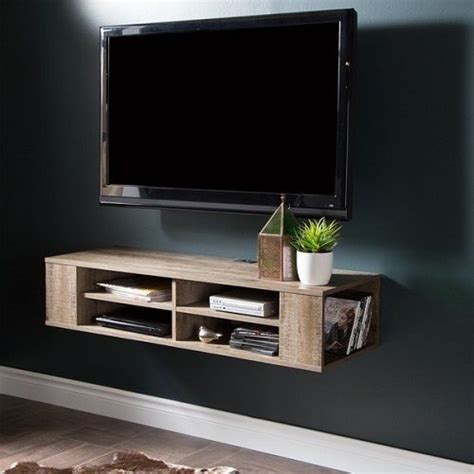 Floating Shelf Tv Stand by 1000 Ideas About Floating Tv Stand On