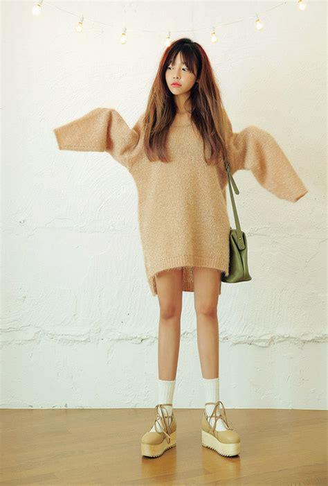 Knit Top Bahan Spandek Soft Fit To L stylenanda glitter fit soft knit top kstylick korean fashion k pop styles