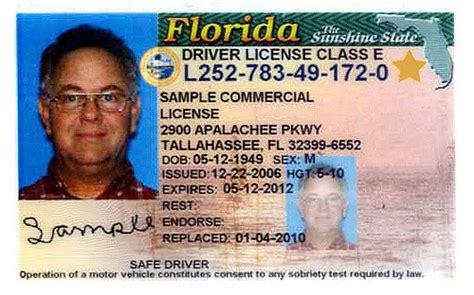 florida drivers license template florida id exle when you go to a driver license