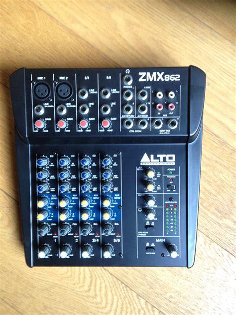 Mixer Alto Zmx 124 photo alto professional zmx862 alto professional zmx862