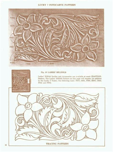 Drawing Pattern On Leather | 585 best images about leather tracing patterns