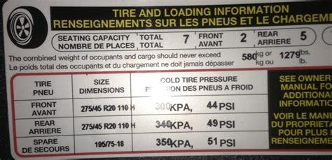 tyre pressure for audi a4 recommended tyre pressure q7 2013 audi audiforums