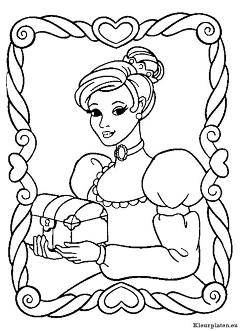 Coloring Pages You Can Color On The Computer Prinsessen Kleurplaten Kleurplaten Eu by Coloring Pages You Can Color On The Computer