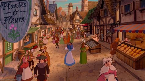 what town is beauty and the beast set in village disney wiki fandom powered by wikia