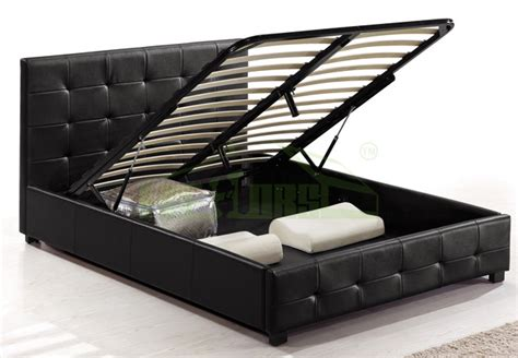 hydraulic lift storage bed hydraulic storage bed lift up storage bed double bed with