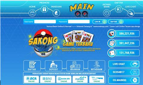 Mainqq ? Situs Game Poker Dan Domino Online Terpercaya