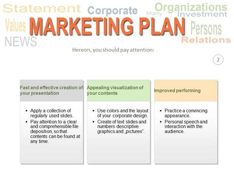 Marketing Presentation Template marketing plan powerpoint ppt template template