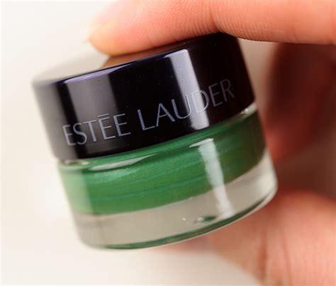 Estee Lauder Emerald products reviews estee lauder emerald shadow paint review photos swatches