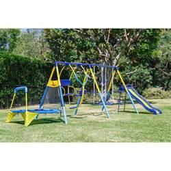 backyard playground slides outdoor backyard swing set steel children playground