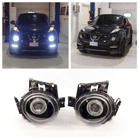 Lu Xenon Nissan Juke updated headlights morimoto fxr bixenon projector