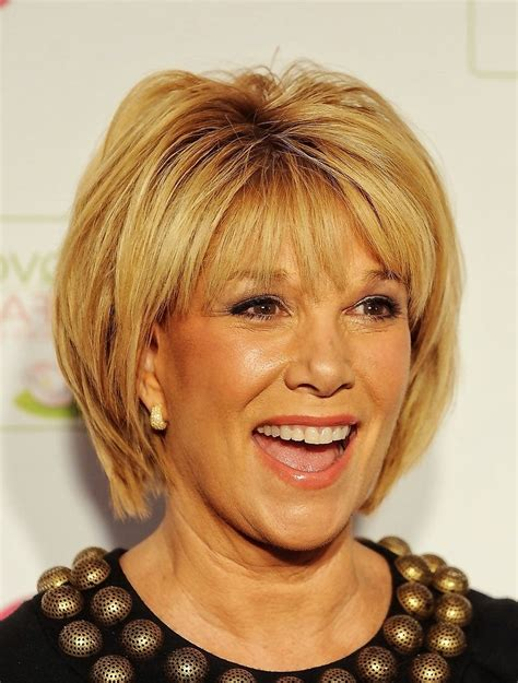 Tag short hairstyles for fine hair and round face over 60