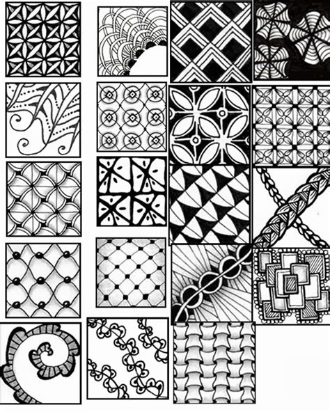 easy zentangle patterns printable go craft something zentangle pattern sheets zentangle