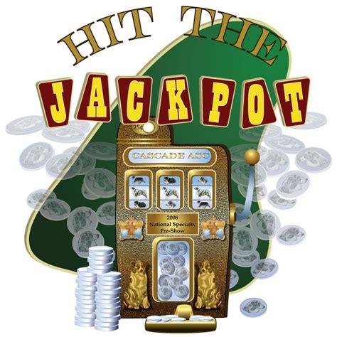 Bit The Jackpot Vegas Vires hit the jackpot clipart clipart suggest