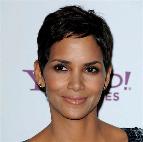 how to cut hair to look like halle berry celebrity pixie cuts short pixie hairstyles