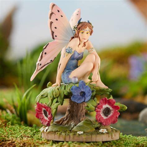 miniature cyndi anemone fairy on sale home decor