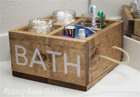 bathtub wood caddy wood caddy with rope handles for the bathroom making