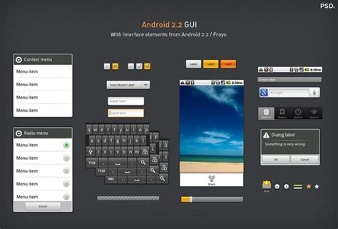Android Without Gui by 50 Useful Ui Design Tools And Resources