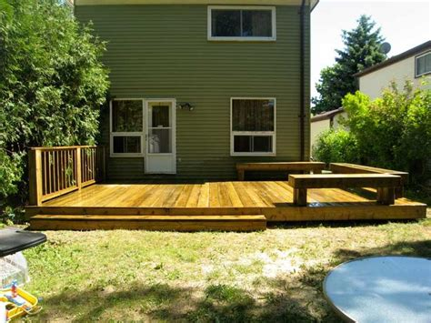 deck in backyard 25 best ideas about small backyard decks on pinterest