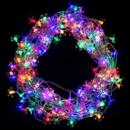 stunning christmas lights with clear wire gallery