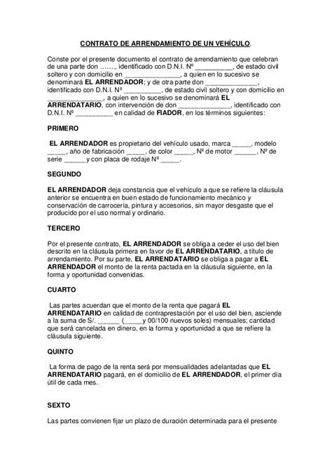 contrato de arrendamiento mexico formato de contrato de arrendamiento mexico tattoo