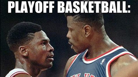 Playoffs Meme - playoff basketball head games the second city
