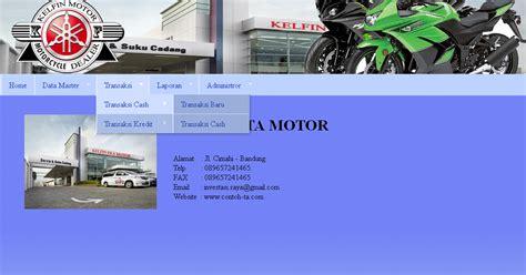 kumpulan tutorial website kumpulan tutorial kito aplikasi web kredit motor