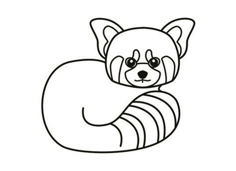red panda coloring page red panda coloring page kids pinterest coloring