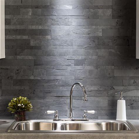 slate backsplash backsplash tiles aspect