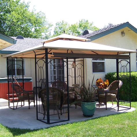 arrow gazebo replacement canopy for arrow gazeb riplock 350 garden winds