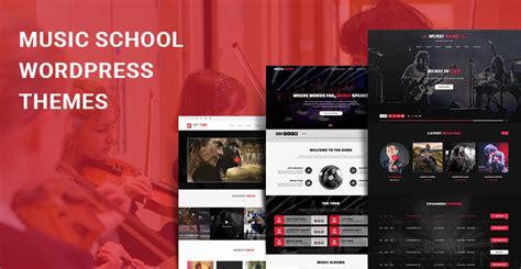 theme music institute music school wordpress themes for music teacher school