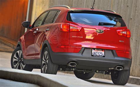 Kia Sportage Back 2013 Kia Sportage Sx Rear 190479 Photo 2 Trucktrend