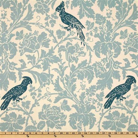 upholstery fabric birds blue bird fabric by the yard home decor upholstery curtain