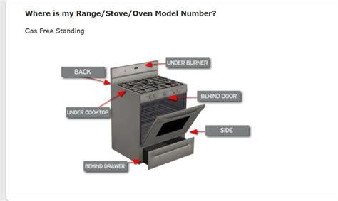 Dacor Cooktop Repair Frigidaire Frigidaire Number