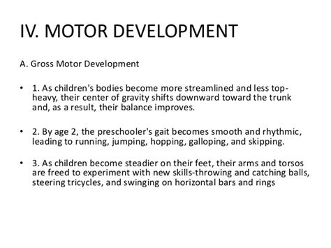 ppt 8 physical development in early childhood powerpoint
