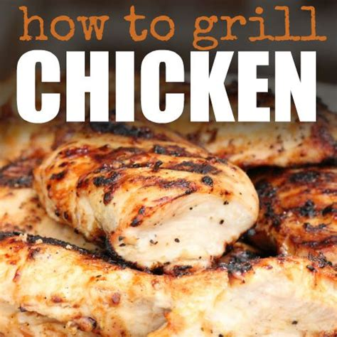 how to grill chicken breast perfectly every time