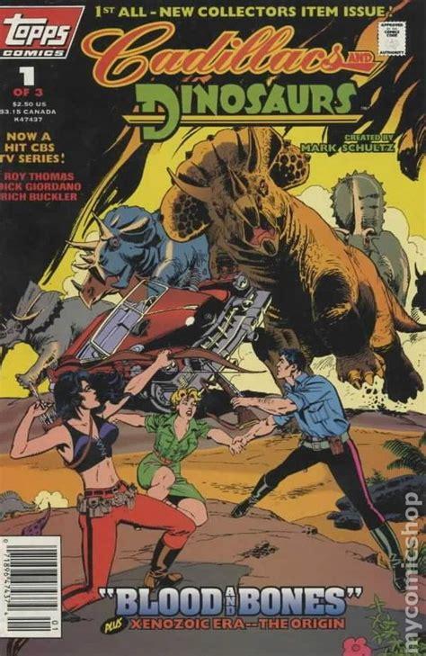 cadillacs and dinosaurs cadillacs and dinosaurs 1994 topps comic books