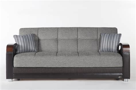 Discount Furniture Sofa Bed by Fulya Gray Convertible Sofa Bed With Storage Marjen