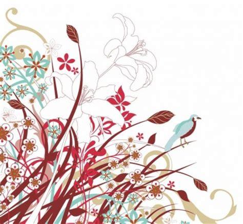 abstrak jingga wallpaper abstrak bunga bunga vektor grafis vektor bunga vektor