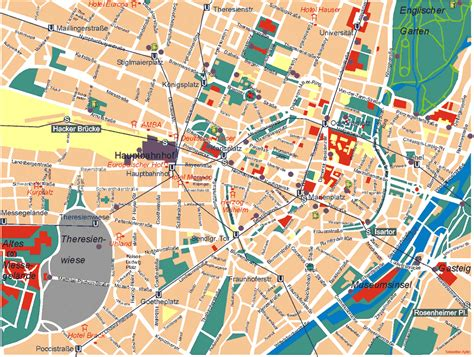 munich germany maps of munich