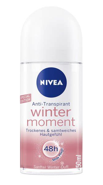 Roll O Spesial nivea anti transpirant winter moment roll on special edition