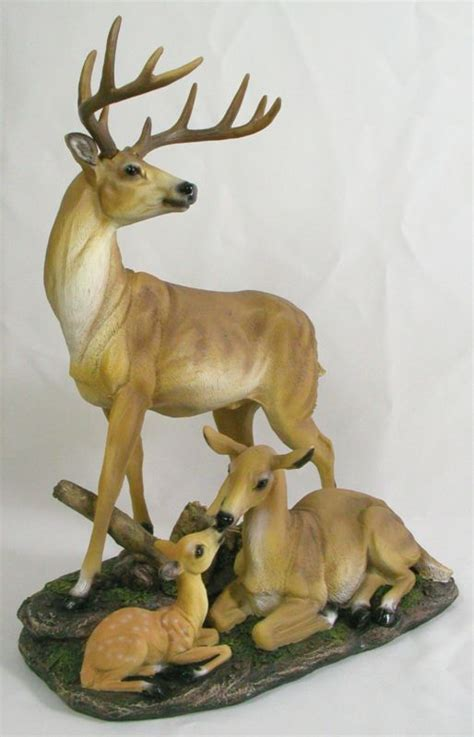 home interior deer picture whitetail deer figurine shop collectibles online daily