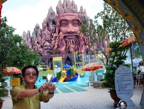 theme park vietnam v for vietnam big stone craving in the water theme park