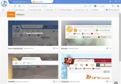 themes for uc browser java uc browser for windows released available for download
