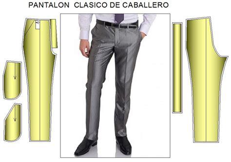 como hacer pantalon de hombre moldes de pantalon clasico linea recta de caballero