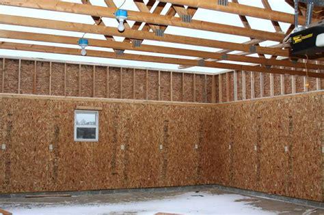 wall finish ideas image of finishing garage walls plywoodgarage interior
