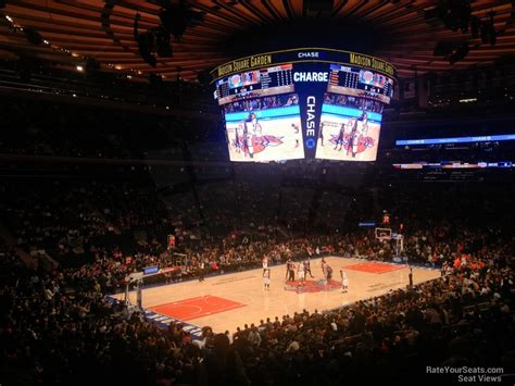 madison square garden section 104 new york knicks madison square garden section 104